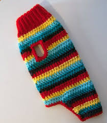 Free Crochet Dog Sweater Pattern