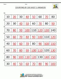 Kids : Free Skip Counting Worksheets Count Numberline ...
