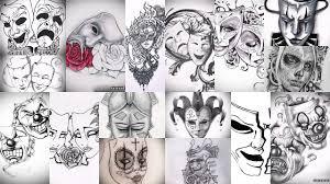 значение тату маска клуб татуировки фото тату значения эскизы
