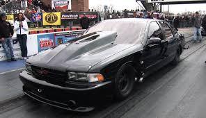 4 Door Chevy Impala SS goes 4.81 @161mph - YouTube