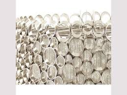venus bubbles and chains nickel chandelier