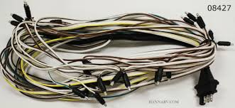 triton snowmobile trailer wire harness triton  triton 08427 snowmobile trailer wire harness