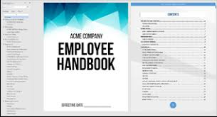 Sample Employee Handbooks Texas Employee Handbook Template Quickemployeehandbook Com