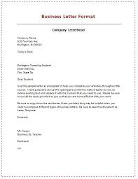 39b7d64f ae6821b5f370c468f sample of business letter business letter format