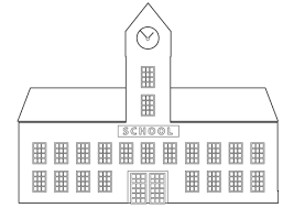 Small Picture School Building coloring page Free Printable Coloring Pages