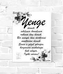 Yenge [iyiki varsin] - Wandschmuck-Shop.de - Postershop | Inneneinrichtung
