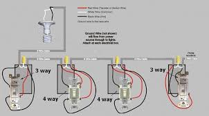 4 way light circuit wiring diagram images existing 3 way 4 way 3