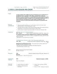 Resume Sample For Nursing Objective For A Nursing Resume Sample Professional Resume