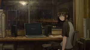 Desktop Sad Anime Aesthetic Wallpaper