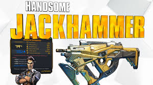 Borderlands 3 - Handsome Jack Gun. Legendary Jackhammer ...