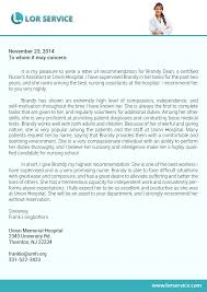 Letter Of Recommendation For Nursing School Letter Of Recommendation For Nursing School Writing Service