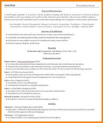6 Recent Graduate Resume Examples The Stuffedolive Restaurant