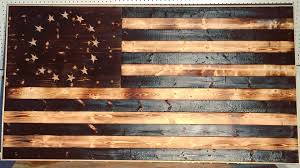 amusing wooden american flag wall art diy wood burned modern builds ep 17 you rustic made by veteran