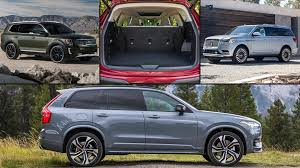 Suv Safety Comparison Chart 20 Of The Best 3 Row Suvs For 2020 Motor Trend