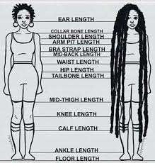 Hair Length Chart In 2019 Natural Hair Styles Hair Length