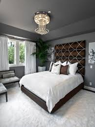 headboard lighting. Inspiration For A Transitional Carpeted Bedroom Remodel In Orange County With Gray Walls Headboard Lighting