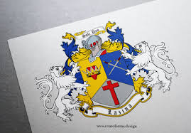 Design A Family Crest Coat Of Arms Family Crest I Designed For A Lazina Family