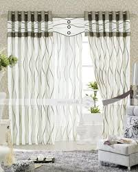 living room curtain ideas for bay windows white polyester indoor curtain wooden varnish table modern curtain