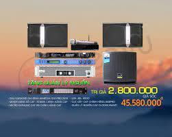 Tìm Dàn Karaoke Tầm Giá 40 triệu? Bộ này dành cho bạn!