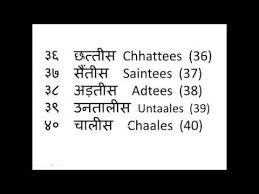 Hindi Numbers Learning Video Online 1 To 100 Counting For