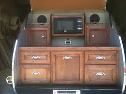 Camper Trailer Kitchen Designs Tiny Yellow Teardrop Ten Best Teardrop Galleys