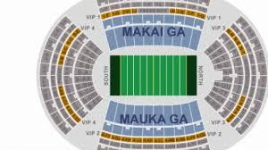 Aloha Stadium Seating Chart Facebook Lay Chart