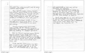 wilmington montessori school > upper elementary ages  sixth grade writing sample 1 sixth grade writing sample 2
