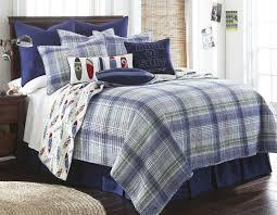 blue plaid bedding project sewn handsome set within comforter sets ralph lauren decor 19 home design