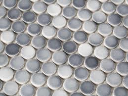 kitchen backsplash stainless steel tiles: gradient penny round tile bpf holiday house interior choosing kitchen mosaic backsplash gradient penny round tiles hjpgrendhgtvcom