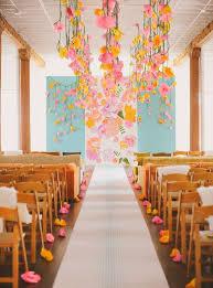 Hanging Paper Flower Backdrop 35 Creative Paper Flower Wedding Ideas Deer Pearl Flowers