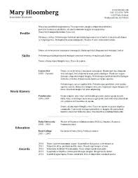 Examples Of Combination Resumes Interesting Combination Resume Format Career Resume Format Combination Resume