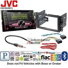 jvc double din cd player car radio install mount kit harness image is loading jvc double din cd player car radio install