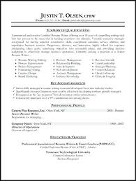 Types Of Resumes Samples Functional Resumes For Experienced ...