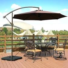 cantilever umbrella weights ft offset hanging patio by outdoor base weight set umbrel