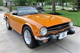 1976 triumph tr6 with low mileage and