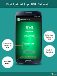 make your first android app bmi calculator