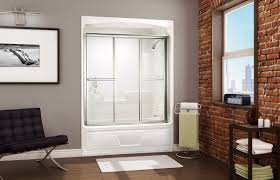 Articles With Install Fiberglass Tub Shower Combo Tag Outstanding One Piece Fiberglass Tub Shower Combo