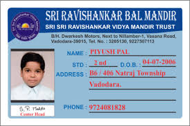 School Service Vasna Ashwini Card Printing Creation 10153378088 Id Road Vadodara In Id