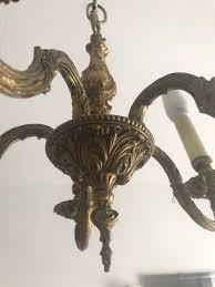 Kronleuchter Gold Antik