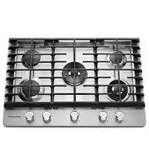 Kitchenaid 30 5 Burner Gas Cooktop With Griddle Kcgs950ess