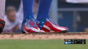Image result for yasiel puig flag cleats