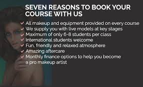 seven reasons to book your course with the london makeup