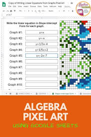 290 linear equations ideas middle