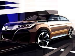 new car launches of honda in indiaNew Honda compact SUV concept teased  ZigWheels