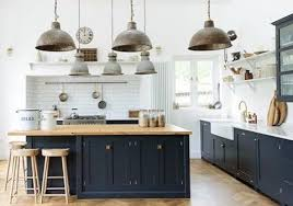 Sharing some Modern Rustic English kitchens by @devolkitchens today ...