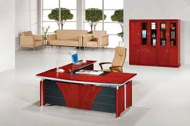 fantastic cool cubicle ideas. fantastic decorating design for office space joshta home charming l shaped red maroon finish stained cool cubicle ideas