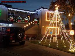 Castro Valley Christmas Tree Lighting Christmas Lights Holiday Display At 17923 Trenton Dr