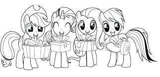 Color Pony My Pony Coloring Pages My Little Pony Sea Ponies Coloring