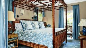 Canopy Bed Linens Because The Wicker And Bamboo Bed Frame Almost ...