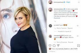 Simona Ventura: nuovo taglio di capelli - Bigodino